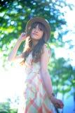 Beautiful asian girl Royalty Free Stock Photo
