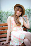 Beautiful asian girl Stock Image