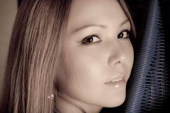 Free Beautiful Asian Girl Portrait Royalty Free Stock Photos - 21346868