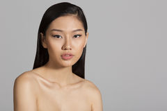 Beautiful Asian Girl Portrait Royalty Free Stock Photography