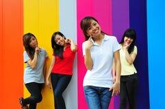 Beautiful Asian Girls royalty free stock photo