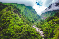 Beautiful Asian landscape Stock Image