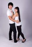 Beautiful asian loving couple Royalty Free Stock Photo