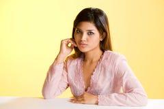 Beautiful asian Muslim young woman. Gorgeous asian Muslim young woman in traditional  wear Royalty Free Stock Photo