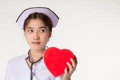 Beautiful asian nurse Stock Photo