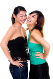 Beautiful asian sister Royalty Free Stock Photos