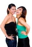 Beautiful asian sister Royalty Free Stock Photos