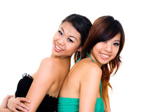 Beautiful asian sister Royalty Free Stock Photography