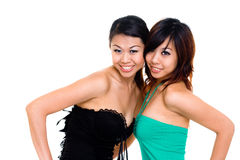 Beautiful asian sister Stock Photo