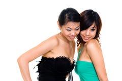 Beautiful asian sister Stock Photography