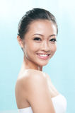 Beautiful asian smiling Royalty Free Stock Photos