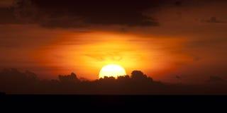 Beautiful asian sunset Stock Images