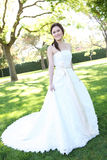 Beautiful Asian Wedding Bride Royalty Free Stock Photo