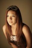 Beautiful Asian woman Stock Photos