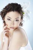 Beautiful asian woman Stock Image