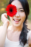 Beautiful asian woman Royalty Free Stock Photography