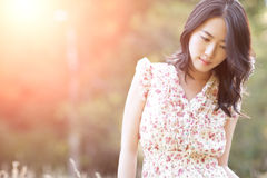 Beautiful asian woman Royalty Free Stock Image