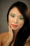 Beautiful asian woman Stock Photography