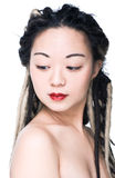 Beautiful asian woman Stock Photography