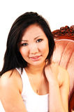 Beautiful Asian woman. Royalty Free Stock Photos