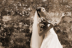 Beautiful Asian Woman, Asian Bride Stock Images