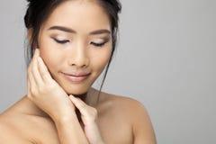 Beautiful asian woman Royalty Free Stock Photography