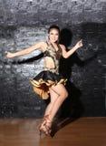 Beautiful Asian woman Latin dance Stock Photo