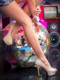 Beautiful asian woman legs Stock Images