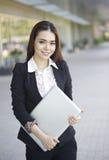 Beautiful Asian woman - outdoor Royalty Free Stock Image