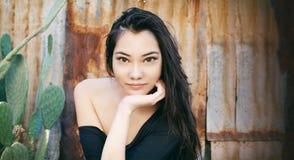 Beautiful Asian woman Stock Images
