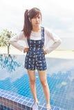 Beautiful asian woman portrait Stock Photo