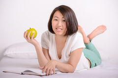 Beautiful asian woman Stock Photo