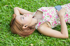 Beautiful Asian woman Royalty Free Stock Photos