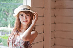 Beautiful asian woman of smile emotion Royalty Free Stock Images