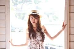 Beautiful asian woman of smile emotion Royalty Free Stock Photos
