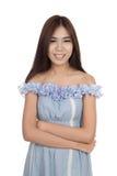 Beautiful Asian woman smile Stock Photography