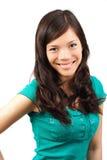 Beautiful Asian woman smiling Royalty Free Stock Photos