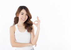 Beautiful Asian women Stock Photo