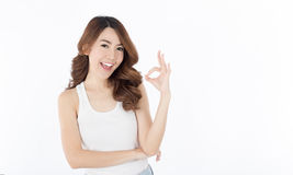Beautiful Asian women Stock Image