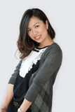 Beautiful Asian young businesswoman Stock Photography