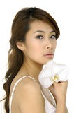 Beautiful Asian Young Woman Royalty Free Stock Photos