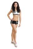 Beautiful athlete woman Stock Image