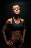Beautiful Athletic Woman Royalty Free Stock Photography