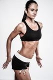 Beautiful athletic woman Royalty Free Stock Photo