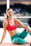 Beautiful athletic woman Royalty Free Stock Image