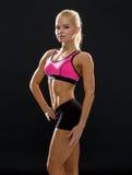 Beautiful athletic woman in sportswear Royalty Free Stock Photo