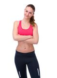 Beautiful athletic young woman Royalty Free Stock Images