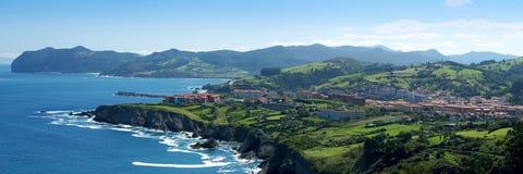 Beautiful Atlantic shore Stock Image
