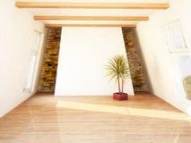 Beautiful attic room Royalty Free Stock Photos