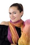 Beautiful attractive business women Stock Photo
